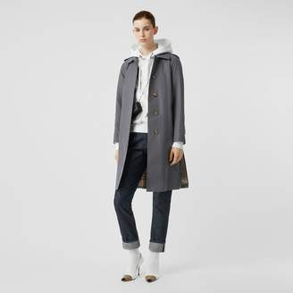 Burberry Cotton Gabardine Belted Car Coat