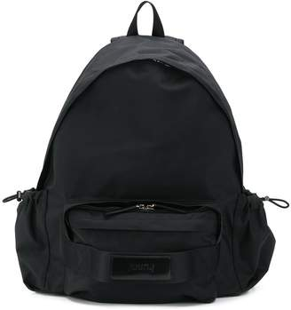 Juun.J stitched panel backpack