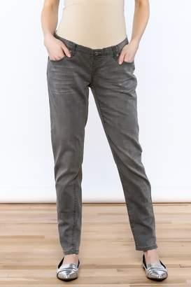 Lilac Maternity Grey Skinny Jean
