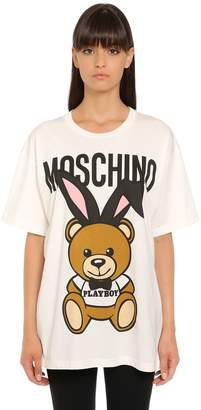 Oversized Playboy Bear Jersey T-Shirt