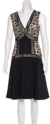 Tracy Reese Embroidered Paneled Dress w/ Tags