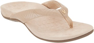 334518091346 Vionic Patent Thong Sandals w   V  Detail - Jen