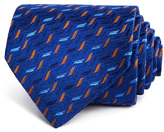 Turnbull & Asser Step Icicles Classic Tie $195 thestylecure.com