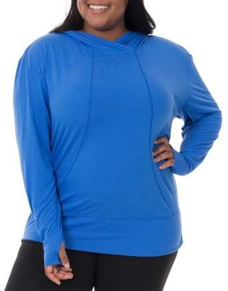 Fruit of the Loom Women's Plus-Size Active Pullover Hoodie