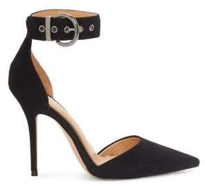 Jessica Simpson Waldin Patent Leather Ankle-Strap Pumps
