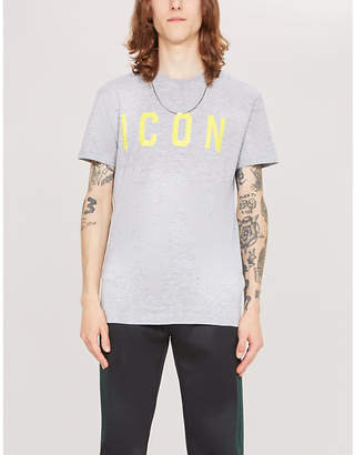 DSQUARED2 Icon cotton-jersey T-shirt