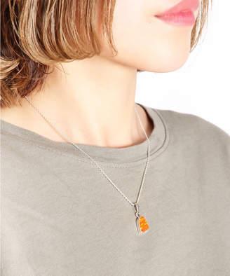 WYTHE CHARM 【メキシコ買付】シルバー925 オパールネックレス オレンジ(C)FDB