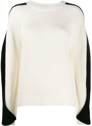 Lala Berlin twisted sleeve sweater