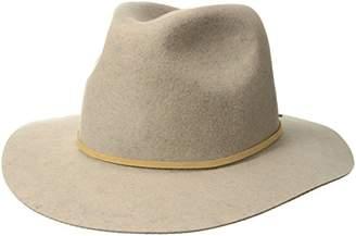 Brixton Men's Wesley Medium Brim Felt Fedora HAT