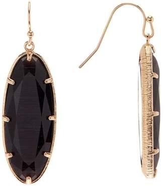 14th & Union Oval Stone Single Drop Earrings