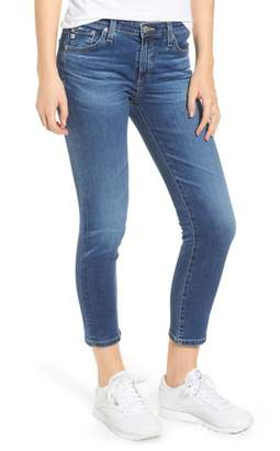 AG Jeans Prima Distressed Crop Cigarette Jeans