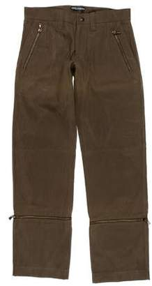 Dolce & Gabbana Zip Accented Relaxed Jeans w/ Tags