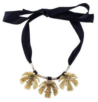 Marni Horn Floral Necklace