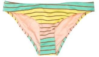 Trina Turk Metallic Print Swimsuit Bottom w/ Tags