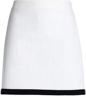 Moschino Cotton-Blend Jacqaurd Mini Skirt