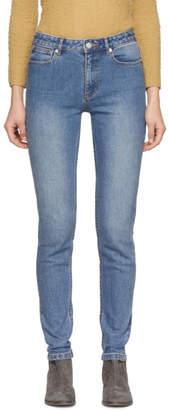 A.P.C. Indigo High Standard Jeans