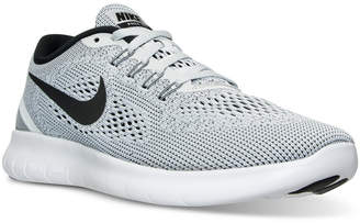 Nike Men's Free RN Running Sneakers from Finish Line $99.99 thestylecure.com