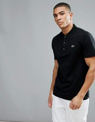 Lacoste Sport Polo Shirt In Black