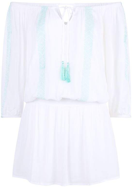 Willow Embroidered Dress