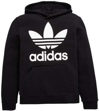 Nero Adidas Felpa Bambini Shopstyle Uk