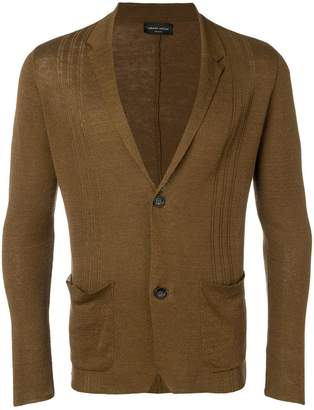 Roberto Collina lightweight tobacco cardigan