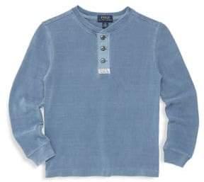 Ralph Lauren Boy's Knitted Basic Cotton Sweater