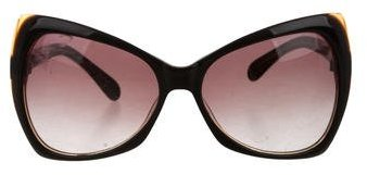 Tom Ford Tom Ford Oversize Logo-Embellished Sunglasses