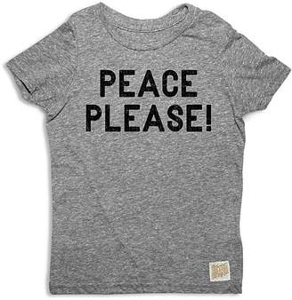 Original Retro Brand Boys' Peace Please Tee - Big Kid