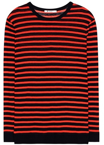 Alexander Wang T by Alexander Wang Striped top