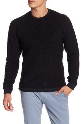 Reigning Champ Faux Shearling Crew Neck Sweater