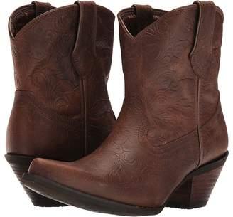 Durango Crush Embossed Bootie Cowboy Boots