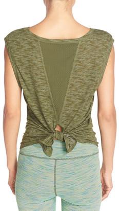 Zella 'Luna' Convertible Tie Tee $42 thestylecure.com