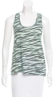 Proenza Schouler Zebra Printed Sleeveless Top