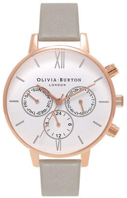 Olivia Burton Analog Chrono Detail Watch