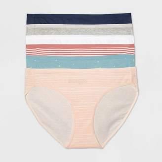 Auden Women's Cotton Bikini 6pk - Auden