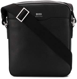 HUGO BOSS saffiano messenger bag