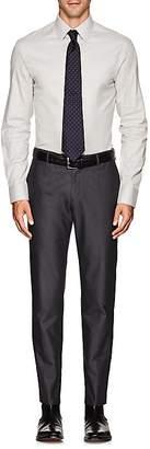 Armani Collezioni MEN'S COTTON FLANNEL DRESS SHIRT