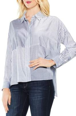 Vince Camuto Mix Stripe Button Down Shirt