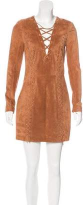 Intermix Isaac Suede Dress w/ Tags