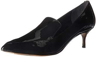 Kenneth Cole New York Women's Shea Pointy-Toe Kitten Heeled Loafer Pump