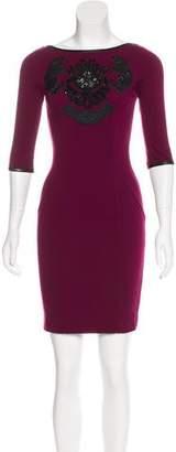 Blumarine Embellished Mini Dress