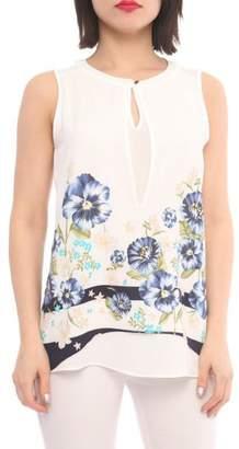 Marvy Fashion Flower Printed Top