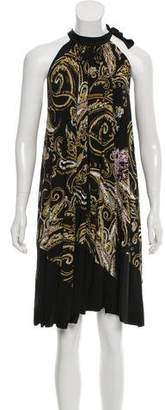 Etro Sleeveless Printed Knee-Length Dress