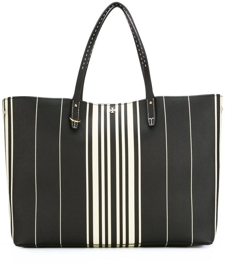 Tory Burch Tory Burch striped shopper tote