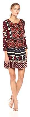 Desigual Women's Fanmal Woman Knitted 3/4 Sleeve Dress