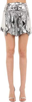 Isabel Marant Kira Metallic Silk Skirt
