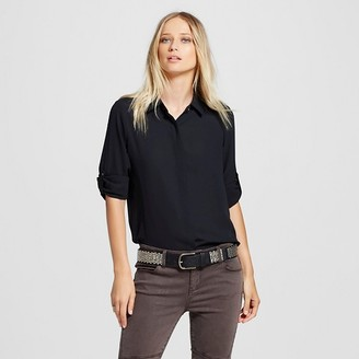Mossimo Women's Convertible Sleeve Blouse - Mossimo $22.99 thestylecure.com