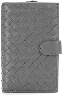 Bottega Veneta Continental intrecciato leather wallet