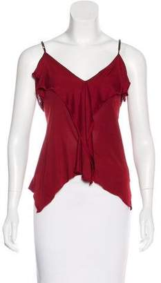 Viktor & Rolf Ruffle-Accented Sleeveless Top