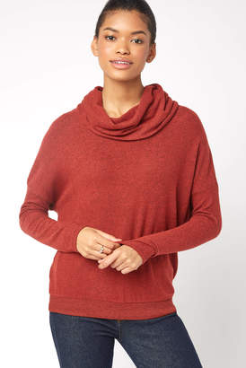 Z Supply Hacci Cowl Neck Pullover
